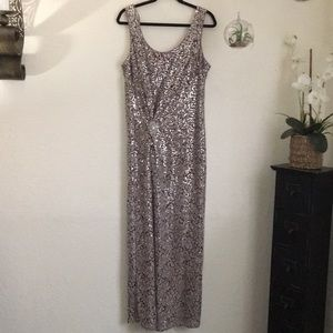 David's Bridal Sequin Dress